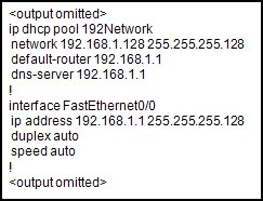 The output of the debug ip dhcp server command shows