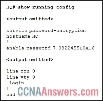 What is the possible reason that a technician is unable to telnet into the HQ router and make configuration changes