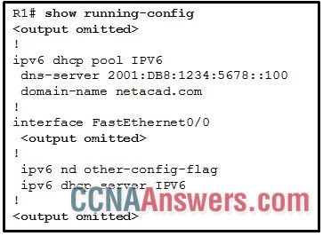 Based on the output that is shown, what kind of IPv6 addressing is being configured?