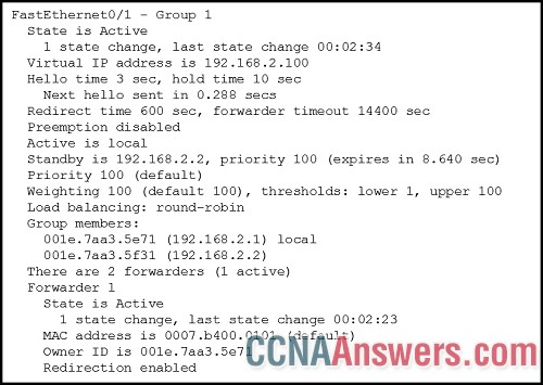 Which IPv4 gateway address should be configured on the host?