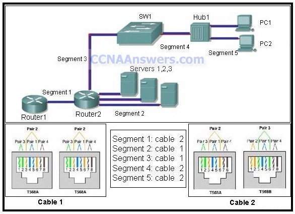 The exhibit thumb CCNA 1 Practice Final Exam V4.0 Answers
