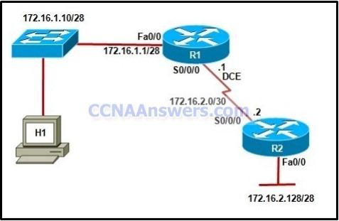 Cisco CCNA 2 Final Exam Answers
