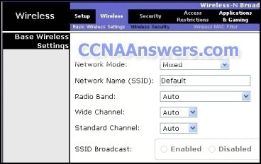 CCNA Discovery 1 Chapter 7 V4.0 Answers