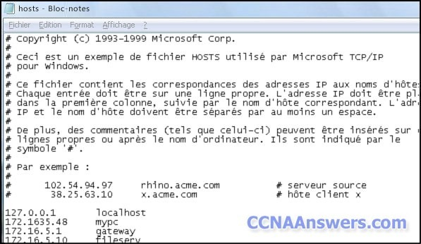 CCNA Discovery 2 Chapter 7