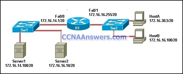 DsmbISP Chapter 9 CCNA Discovery Working at a Small to Medium Business or ISP Version 4.1 thum CCNA Discovery 2 Chapter 9 V4.1 Answers