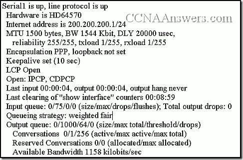 Accessing the WAN Chapter 2 Answers