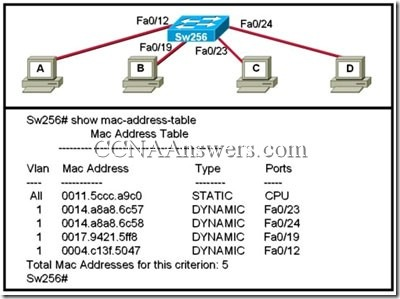 CCNA1FinalExamV4.0Answers20 thumb CCNA 1 Final Exam V4.0 Answers