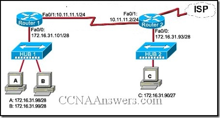 CCNA 1 Practice Final Exam Answers