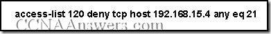 CCNA 2 Module 11 V3.1 Answers (2)