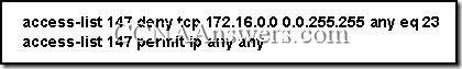 CCNA 2 Module 11 V3.1 Answers (6)
