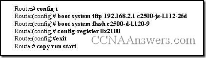 CCNA 2 Practice Final Exam Answer V3.1 (9)