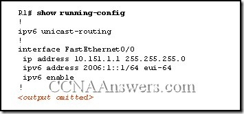 CCNA Module 7 Answers