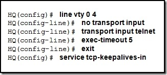 Router Configuration 4